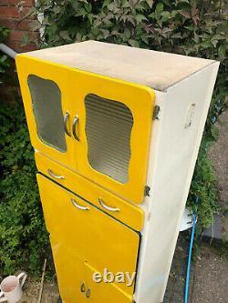Retro Kitchen Larder Pantry Unit Cabinet Kitchen Storage Cupboard Vintage
