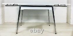 Retro Kitchen Table And Chairs Extending Vintage Chrome Formica Supermatic