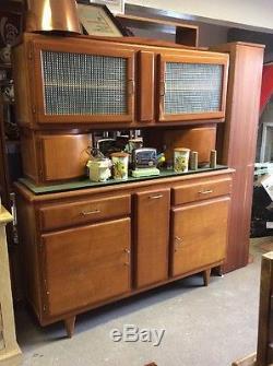 Retro Kitchen Unit Vintage Teak Kitchen Cabinet 1950's Sideboard Unit Ti3546