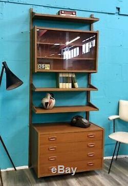Retro MID Century Vintage Teak Ps Cado Paul Cadovious Danish Shelving System
