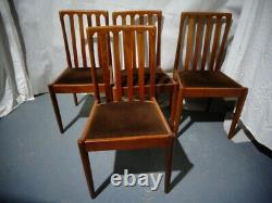 Retro Teak Meredew Teak Dining Chairs Vintage Teak Kitchen Chairs MID Century