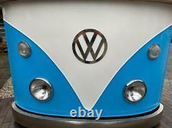 Retro Vintage 1960s inspired VW Camper Van Home Bar / Counter / Sideboard