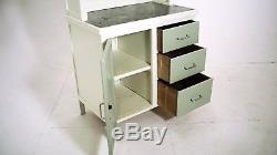 Retro Vintage Kitchen Cabinet Dresser 40s 50s Kitchenette Zinc Worktop DELIVERY