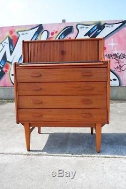 Retro Vintage Mid Century Bureau Storage Cupboard Unit