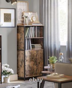 Rustic Kitchen Pantry Vintage Industrial Cupboard Tall Storage Cabinet Larder