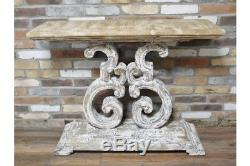 Rustic Sideboard Console Side End Table Hallway Vintage Ornate Storage New