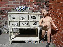 SHABBY CHIC Wooden 6 Draw Dresser