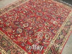 SIGNED very large antique vintage rug carpet wool 170 X 240cm pers ain SA-ROUG