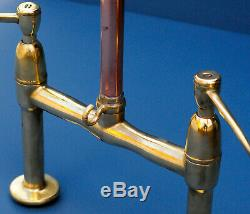 SURGEON LEVER MIXER TAP belfast sink faucet vintage brass retro