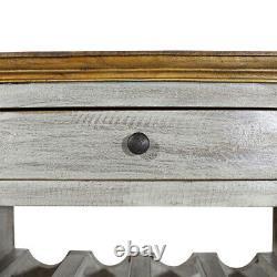 Shabby Chic Wine Rack Bottle Rack Storage Holder Vintage Style Furniture Rustic