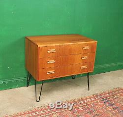 Small G Plan Chest of Drawers, Teak Cabinet, Retro, Vintage, Mid Century, Lounge