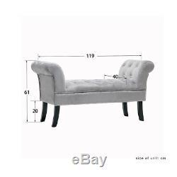 Soft Crush Velvet Chair Accent Tub Vanity Sofa Armchair Bench Bedroom Lounge New