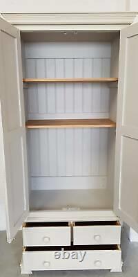Solid Pine Vintage Kitchen Pantry Larder Linen Cupboard/Storage