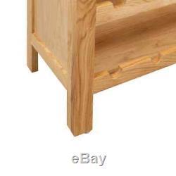 Solid Wood Wine Cabinet Wine Rack Cupboard Display Holder Storage Organizer