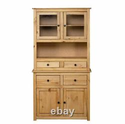Tall Kitchen Storage Cupboard Cabinet Pantry Freestanding Unit Furniture Rustic