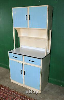 Tall Retro Kitchen Cabinet, Metal Larder, Cupboard, Vintage, Mid Century, Refurb