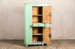 Tall Vintage Larder Cupboard Freestanding Cabinet For Kitchen Utility Or Dining