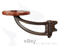 The Get Back Original Swing Out Seat Poplar Seat with Black Arm