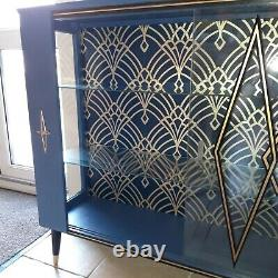 Unique Mid Century Gin/ Cocktail/ Drinks/ Display Cabinet