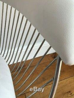VINTAGE WARREN PLATNER CHAIR retro steel eames era heals kitchen dining armchair