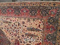 Very large huge vintage rug carpet wool 225 x 125 cm per-sian