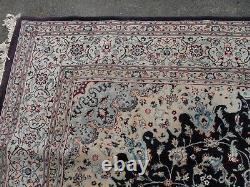 Very large huge vintage rug carpet wool mix 300 x 200 cm kes-hen anti slip