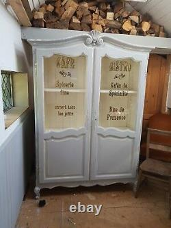 Vintage Antique Shabby chic haberdashary Aporthecary Cabinet, kitchen, bedroom