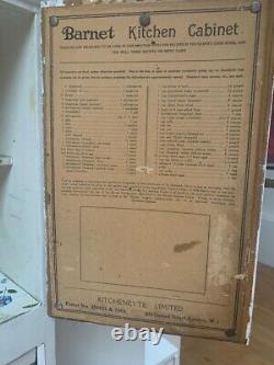 Vintage Barnet Kitchen Larder Cabinet Cupboard (Wood)