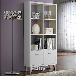 Vintage Bookcase Furniture Retro Sideboard Cabinet Display Shelves Storage Unit