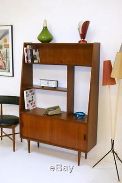 Vintage Danish Bookcase/Room Divider. Great condition -Teak Wood. 1960s