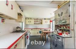 Vintage English Rose Kitchen Used Variety of Units Available