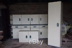 Vintage English Rose kitchen units (un-refurbished)