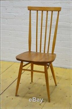 Vintage Ercol dining kitchen chair Windsor 684 blonde elm beech UK DELIVERY
