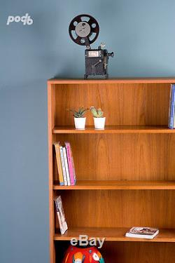 Vintage G PLAN Mid Century Retro Teak Bookcase Display Cabinet on Hairpin Legs