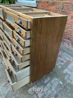 Vintage Haberdashery Cabinet Drawers Kitchen Unit Sideboard