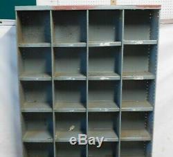 Vintage Industrial Racking Shelving Pigeon Holes Shoe rack