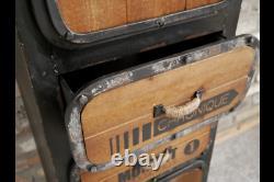 Vintage Industrial Sideboard Larder Unit Retro style Storage Chest 148cm