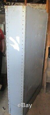 Vintage Industrial metal workshop shelving storage 73x 36 x 12 sell each