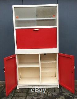 Vintage Kitchenette Kitchen Larder Storage Cupboard Cabinet 1960's