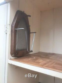Vintage Linen Press Haberdashery Cabinet Kitchen Prrss Retro Unit
