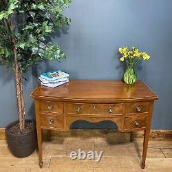 Vintage Mahogany Desk / Rustic Sideboard / Vintage Sideboard / Office Desk