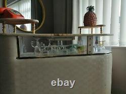 Vintage Mid Century 60s 70s retro cocktail bar drinks cabinet