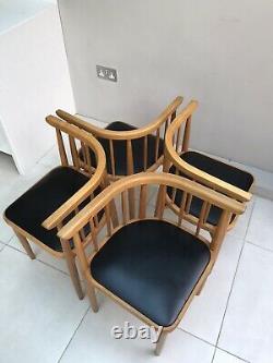 Vintage Mid Century Kitchen Dining Corner Chairs Conversation Love Bench Seats