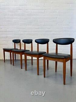Vintage NATHAN Teak Danish Dining Chairs. G Plan Hans Olsen Kofod Larsen Retro