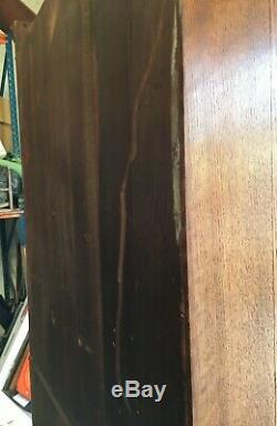 Vintage Oak Cupboard linen storage kitchen