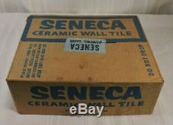 Vintage Pink Speckled tile USA Seneca Floor Wall BRAND NEW 80 Pieces 10 SQ FT