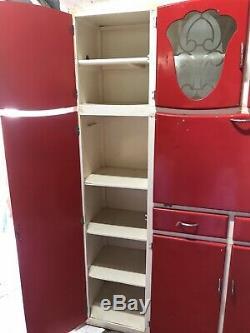 Vintage Prestige Kitchen Larder Unit Kitchenette Retro Project 1950s/1960s