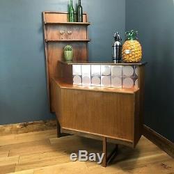 Vintage RARE home Bar G plan Teak Cocktail Display Man Cave Mid Century Retro