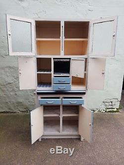 Vintage Retro 1950s Kitchen Larder Cabinet Cupboard With Pull Out Table