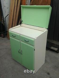 Vintage Retro 50s 60s kitchen cupboard base unit